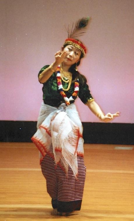 マニプリ舞踊3
