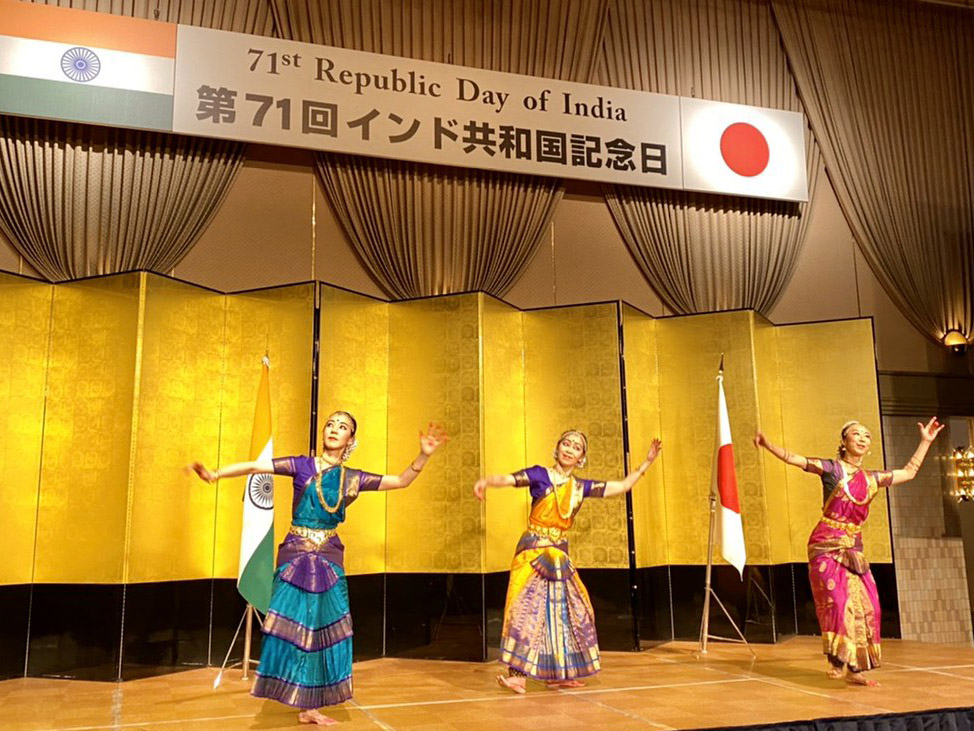第71回インド共和国記念日式典